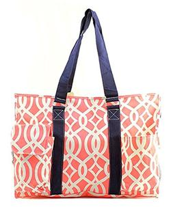 "N. Gil All Purpose Organizer 18"" Large Utility Tote Bag"