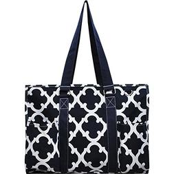 "N. Gil All Purpose Organizer 18"" Large Utility Tote Bag 3"