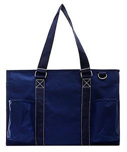 N Gil All Purpose Organizer Medium Utility Tote Bag Solid Na
