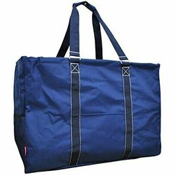 "N. Gil Multi Purpose Carry All 24"" Mega Utility Tote Bag"