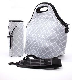 Neoprene Lunch Tote Bag ,Waterproof Outdoor Picnic Travel In