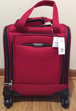 "NEW American Tourister 16"" Spinner Tote Carry-On Luggage - R"