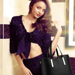 New Brand PU Leather <font><b>Bag</b></font> 3pcs/Set Vintag