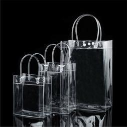 New Clear Tote Bag Transparent Purse Shoulder Handbag Stadiu