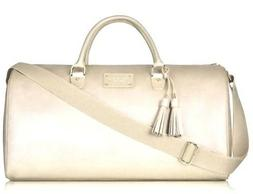 NEW Michael Kors Glam on the Go Weekender Large Gold Travel