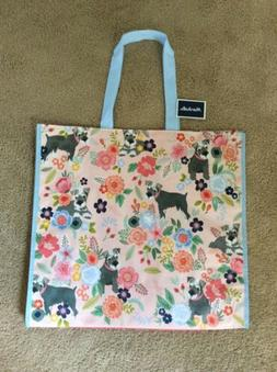 NEW Marshalls Large Shopping Tote Bag - Miniature Schnauzer