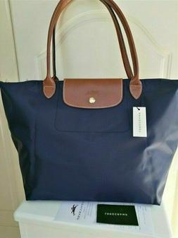 New Longchamp Le Pliage Nylon Tote Bag Handbag Size Large Na