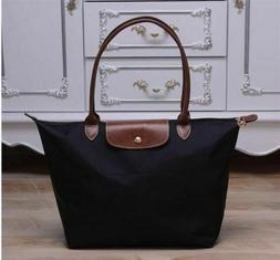 new le pliage tote bag black handbag