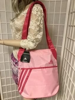New NWT ADIDAS Pink Tote Gym Workout Bag