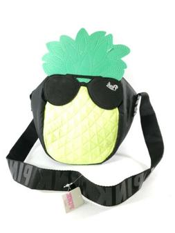 New - PINK Pineapple Tote Bag Lunch Bag Strap Insulated Easy