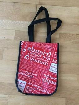 NEW Small Lululemon Black Red Tote Bag