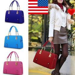 New Women Luxury Handbag PU Leather Shoulder <font><b>Bag</b