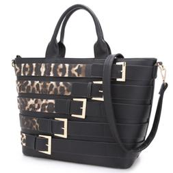 Dasein Women Large Handbag Tote Bag Satchel Shoulder Purse w