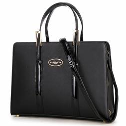 New Womens Handbag Leather Satchel Briefcase Tote Bags Shoul