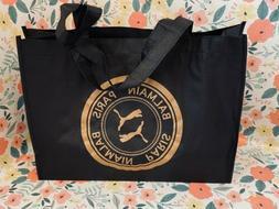 NEW  BALMAIN x PUMA BLACK  SHOPPING BAG   GYM/BEACH/YOGA TOT