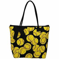 Ngil Quilted Cotton Owl Medium Tote Bag 2