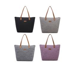 NNEE Water Repellent Light Weight Nylon Polyester Tote Bag H
