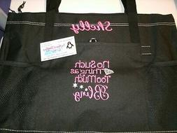 No Such thing as to much Bling Personalized Tote Bag Jewelry