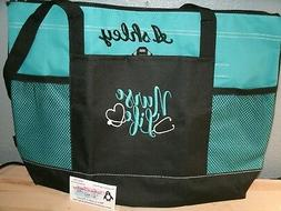 Nurse Life Personalized Tote Bag LPN, RN, CNA, HHA, BSN