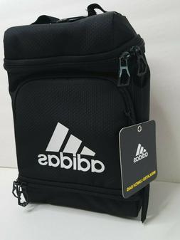 NWT Adidas Black Insulated Lunch Bag Lunch Box School Tote B