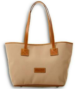 NWT Dooney & Bourke Large Cindy Shopper Tote Bag Canvas with