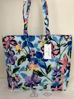 NWT Vera Bradley Essential Tote Bag Shoulder Handbag In Mari