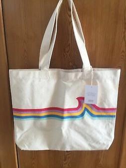 NWT Madewell Heavy Canvas Tote Bag for Beach, School, Shoppi