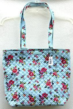 NWT! Vera Bradley Iconic Tote Bag Shoulder Purse in Water Bo