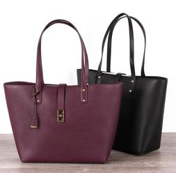 NWT Michael Kors KARSON Large Carryall Pebbled Leather Tote