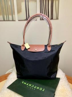 NWT Longchamp Le Pliage Tote Bag 1899 Black Large Nylon