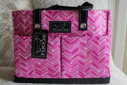nwt pocket rocket pink large tote bag