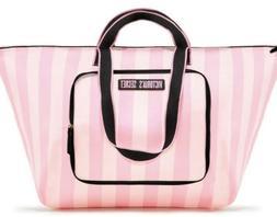 NWT Victoria Secret Pink Women's Large Tote Bag Zipper Clo