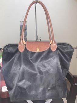 Bekilole Nylon Waterproof Tote Bag in Black