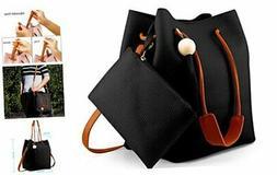 Oct17 Fashion Tassel buckets Tote Handbag, Women Messenger H