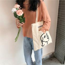 Outer pocket heavy duty 100% Cotton Shopping Canvas Shoulder