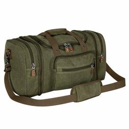 Plambag Oversized Canvas Duffle Bag 50L Tote Travel Weekend