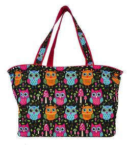 Owl Beach Tote Bag Extra Large For Women Designer Open Gym T