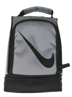 NIKE Paneled Upright Insulated Lunchbox - Gray/Black, one Si