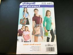 Simplicity Pattern 2164 ~ Learn to Sew ~  Styles Purse / Bag