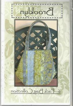 Pattern  Brooklyn 6-Pack Tote  Bag  Use Fat Quarters  15 x 1