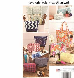 Simplicity Patterns US1153OS Accessory Bags, OS