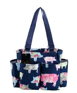 Pig Farm NGIL Small Zippered canvas purse Caddy Organizer To