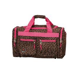 """Rockland Pink Leopard 19"""" Tote Bag"""