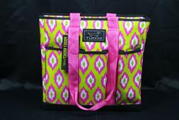 SCOUT POCKET ROCKET Large Tote Bag for Women 6POKETS ZIP-TOP