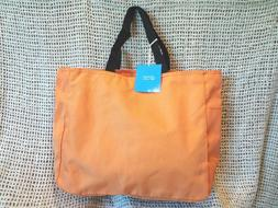 PORT & CO Women's Nylon Tote Bag~Travel Beach School Work Ba