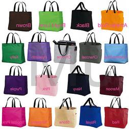 Port & Company B0750 Tote Bag Grocery Reusable Backpack Satc