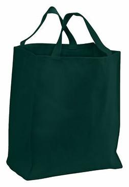Port & Company New Durable Large Grocery Carry 100% Cotton T