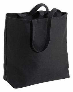 Port & Company Sturdy 15 Inches Casual Cotton Jumbo Tote Bag