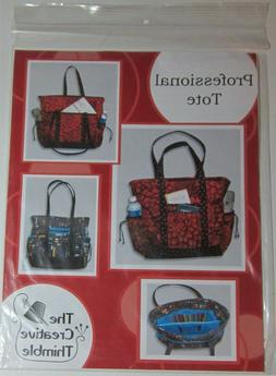 PROFESSIONAL TOTE Bag Sewing Pattern