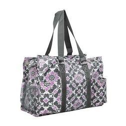 Purple Quatro Vine NGIL Medium Canvas Tote Bag Purple Quatro